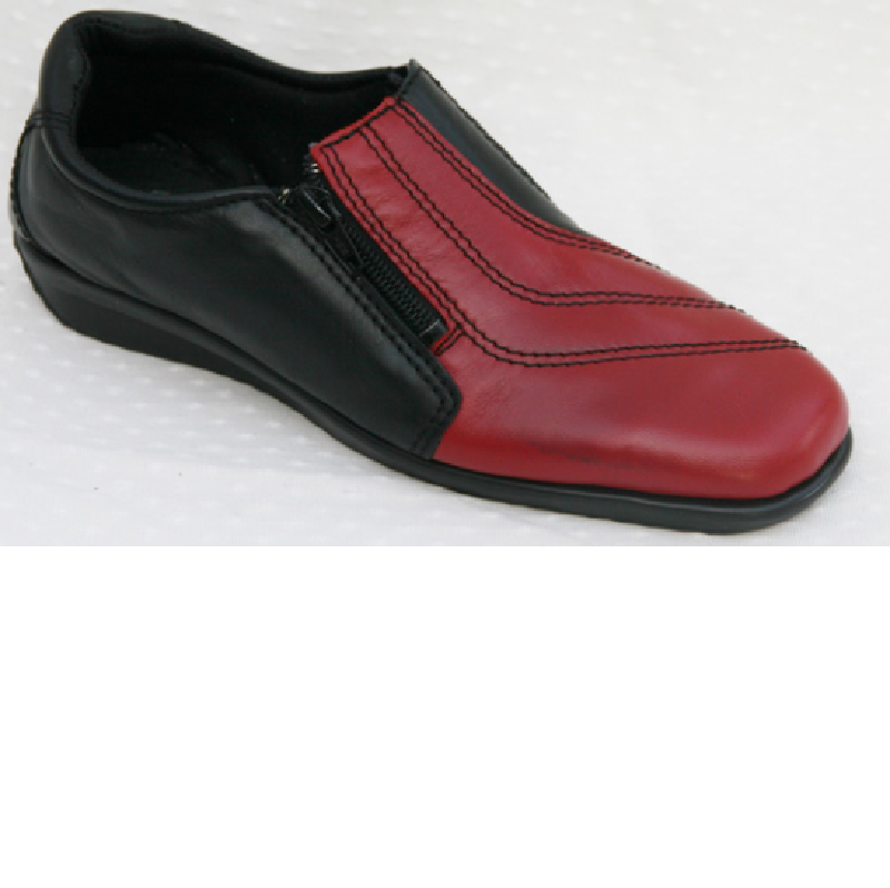 Flexishoe black-red