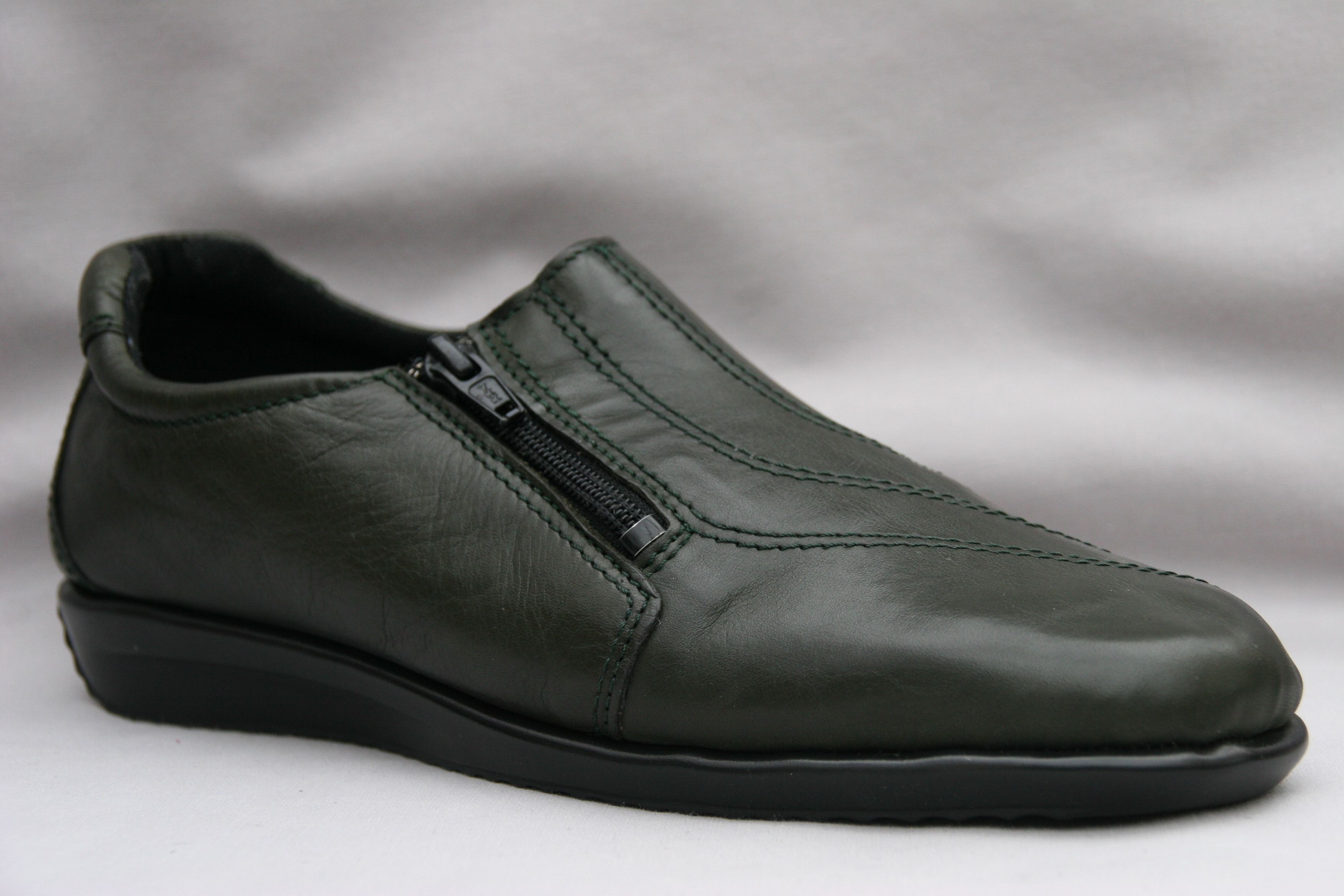 Flexishoe Green Leather