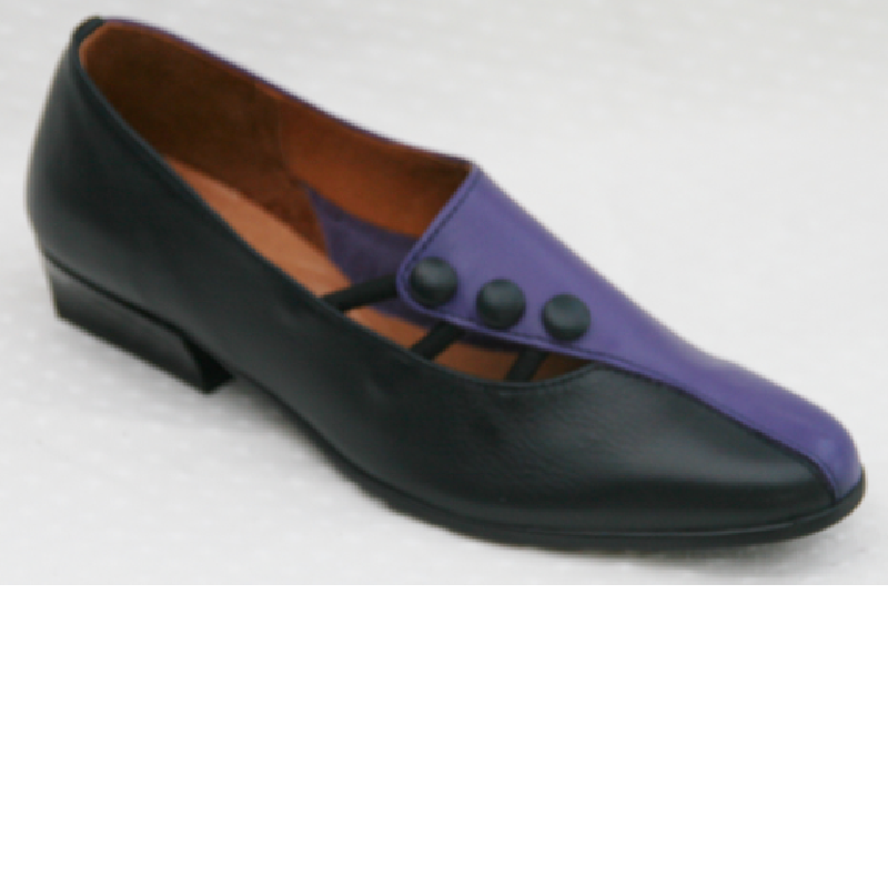 NSB Navy Blue/Purple Leather